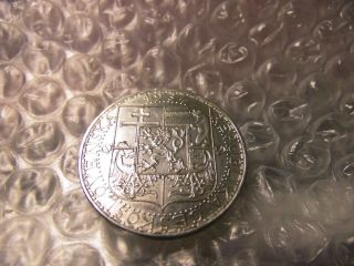 Czechoslovakia 1934 Twenty (20) Silver Korun Au Cond.  Coin Only $17.  50 O.  B.  O. photo