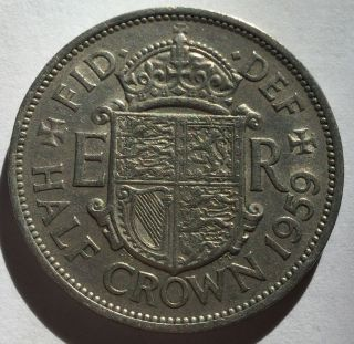 1959 Great Britain Half Crown Uncirculated photo