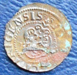 Silver 1621 - 1659 Livonia Sweden Solidus Schilling Km 9 Gustav Ii Circ Msb 217 photo