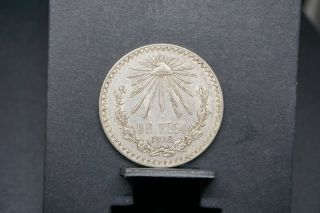 Mexico Collectors 1938 Un Peso 0.  720 Silver Coin 173 photo