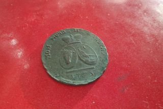 Russia Moldavia Wallachia Romania 2 Para 3 Kopecks 1773 Occupation Coin Sadagura photo