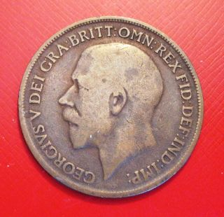 Great Britain,  1917,  Penny photo
