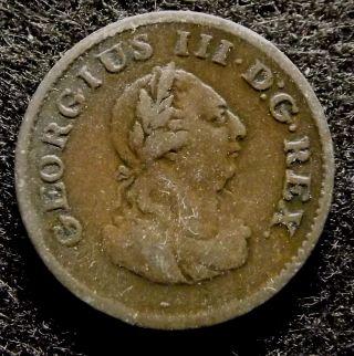 1806 Ireland Hibernia Farthing - Extra Fine Georgius Iii Coin,  Km 146.  1 (774) photo