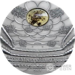 Metropolitan Opera Famous Opera 2 Oz Silver Coin 10$ Palau 2015 photo