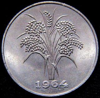 1964 Vietnam 10 Dong Xf Vietnam 10 Dong Coin Km 8 photo