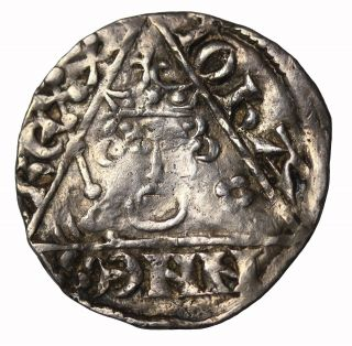 Ireland King John I 1199 - 1216 Ad Ar Silver Penny Dublin Medieval Coin S.  6228 photo