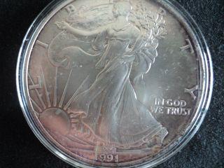 1991 American $1 Silver Eagle photo