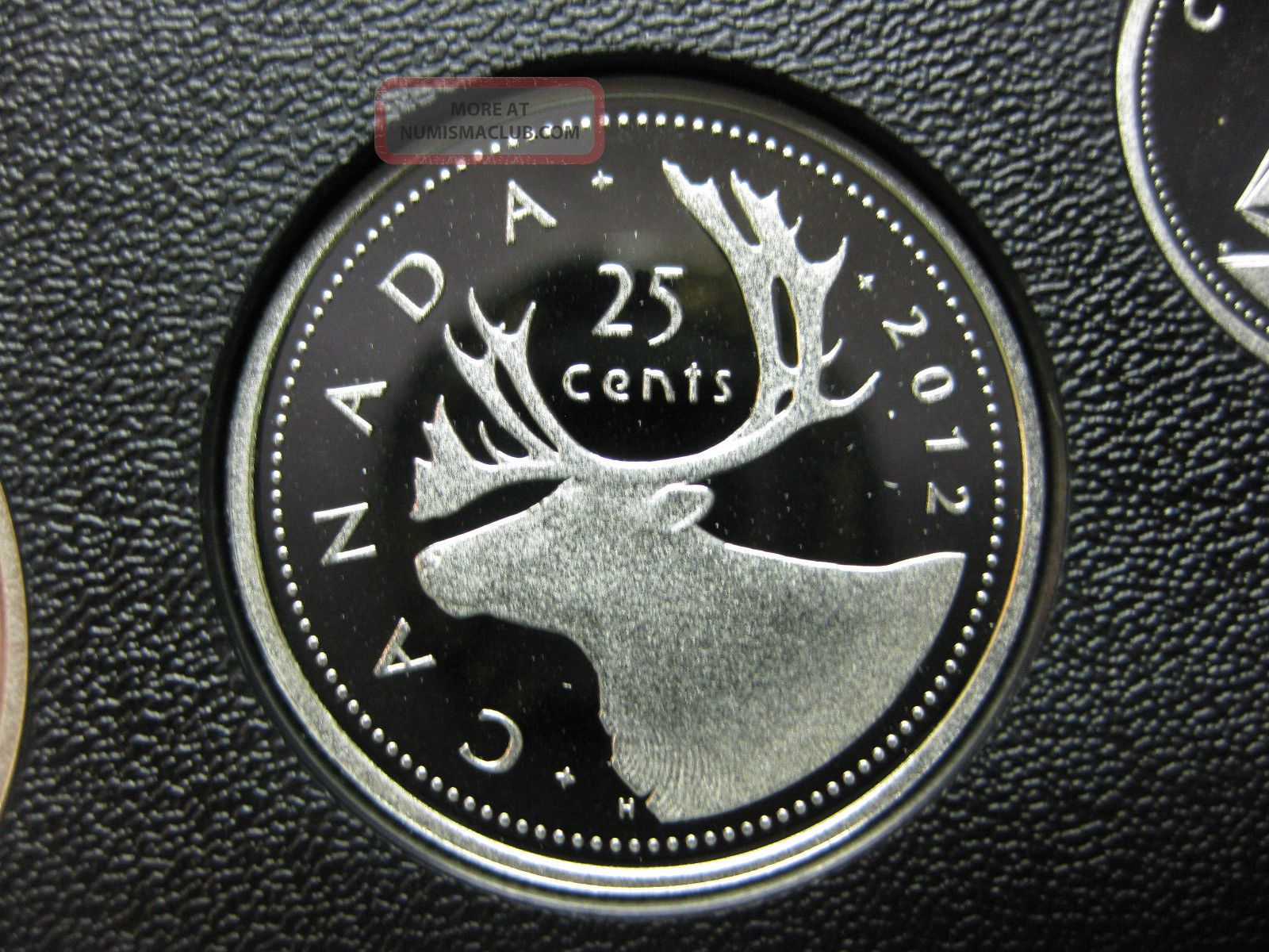 2012 Canadian Silver Proof Quarter ($0.  25) Coins: Canada photo