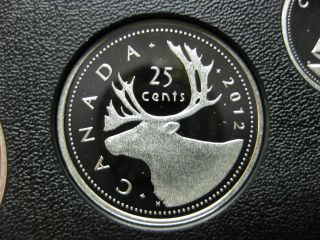 2012 Canadian Silver Proof Quarter ($0.  25) photo