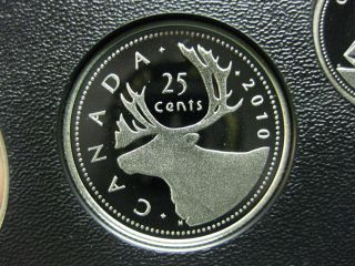 2010 Canadian Silver Proof Quarter ($0.  25) photo