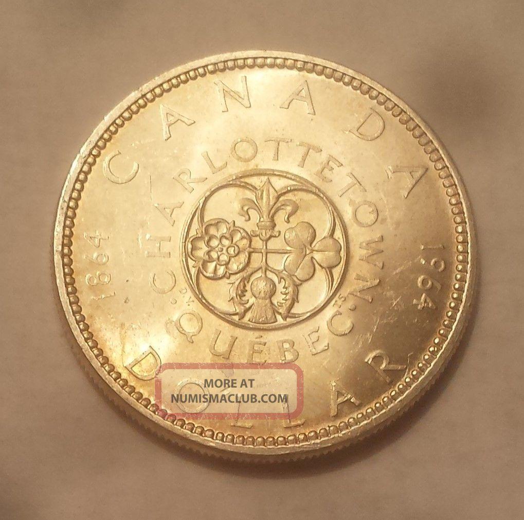 1964 Canada Silver Dollar (80 Silver) Coins: Canada photo