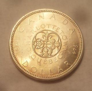 1964 Canada Silver Dollar (80 Silver) photo