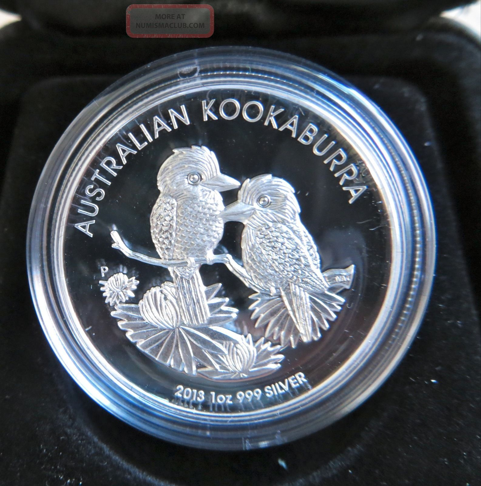 2013 Australian 1oz Silver High Relief Kookaburra Unc