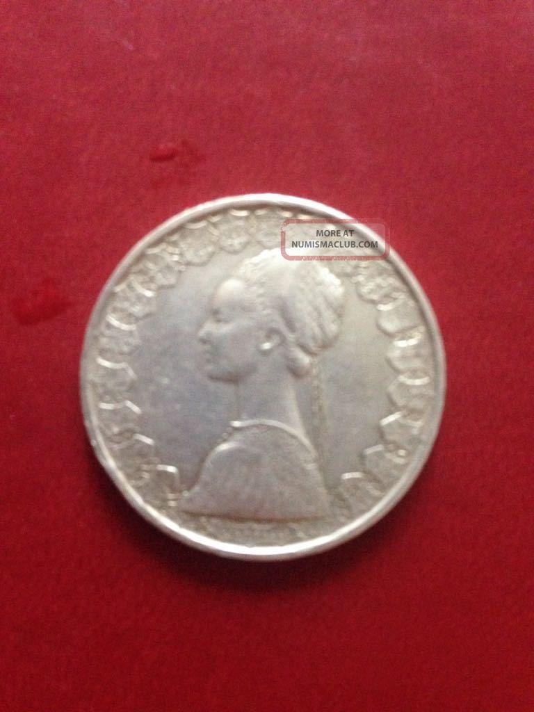 500 Lire Silver Italian Coin Italy, San Marino, Vatican photo