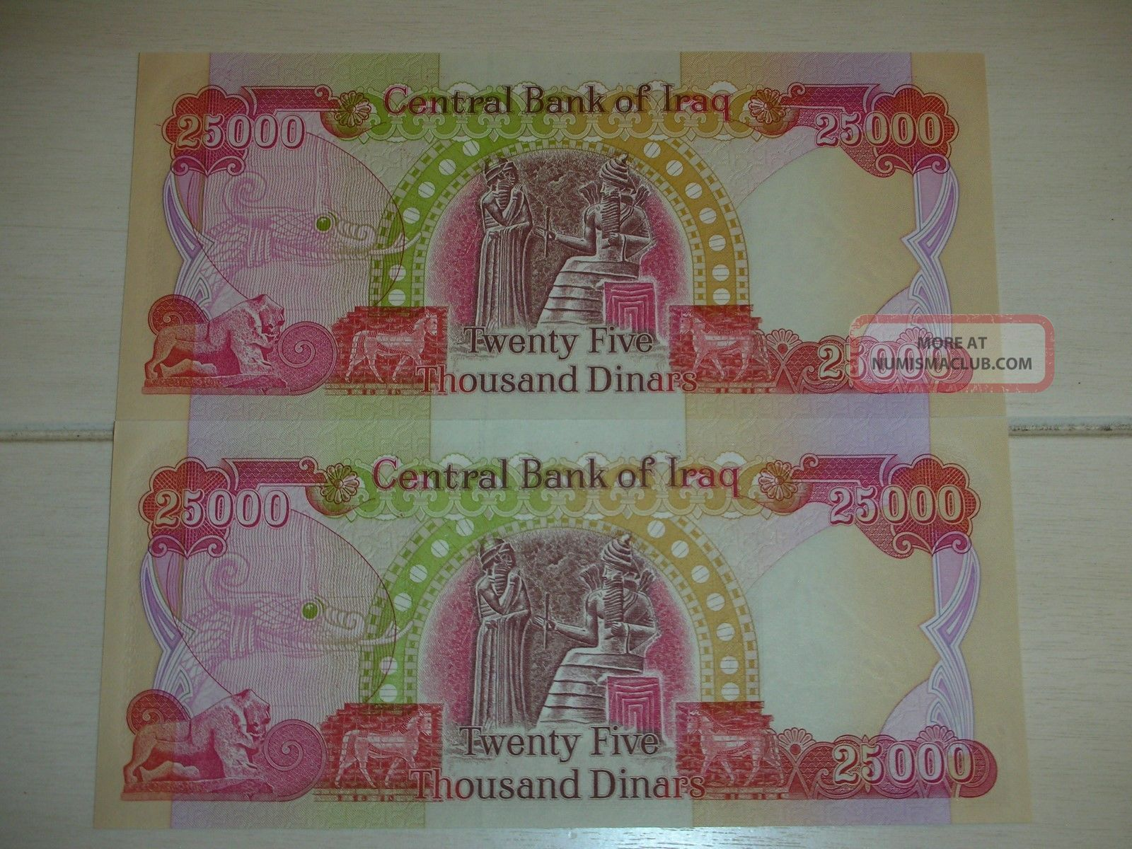 UNCIRCULATED 1 X 50 NEW IRAQI DINAR FOR COLLECTION