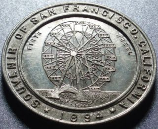 1894 San Francisco R.  5 So - Called Dollar California Midwinter International Expo. photo