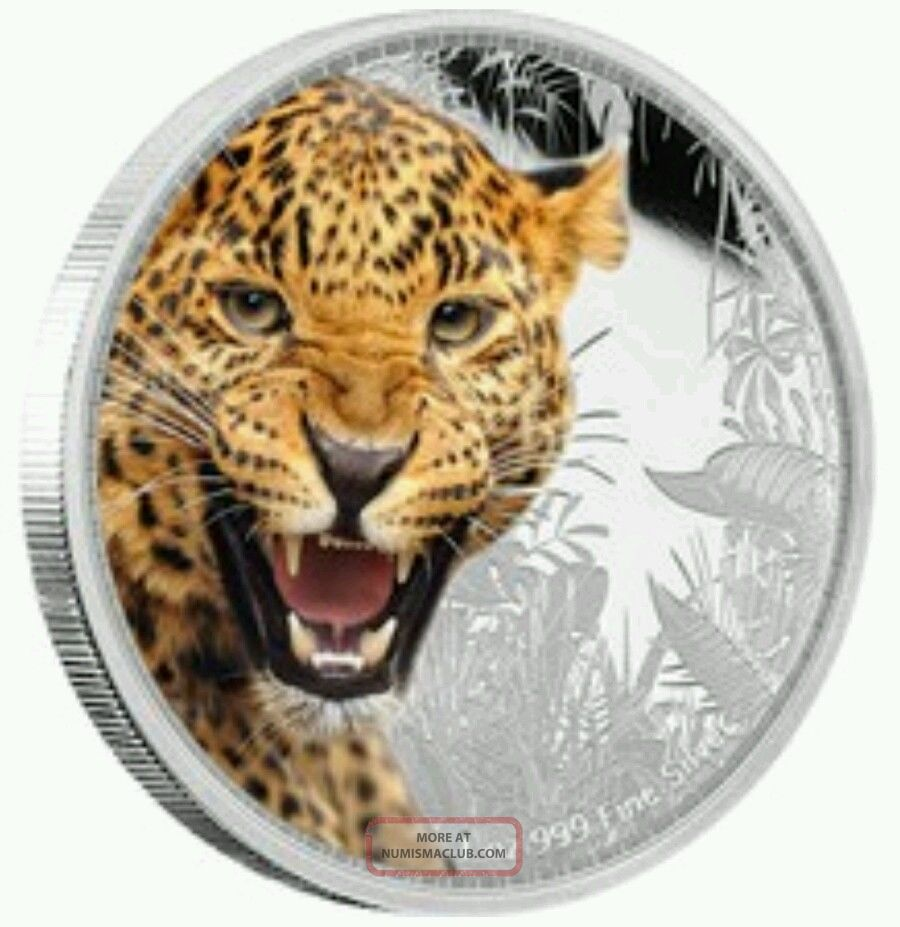 2016 Niue Kings Of The Continents - Jaguar 1 Oz Silver Coin Coins: Canada photo