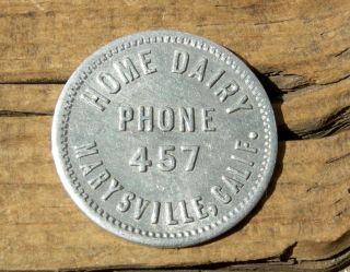 Ca 1900s Marysville California Ca (nr Yuba City) Rare