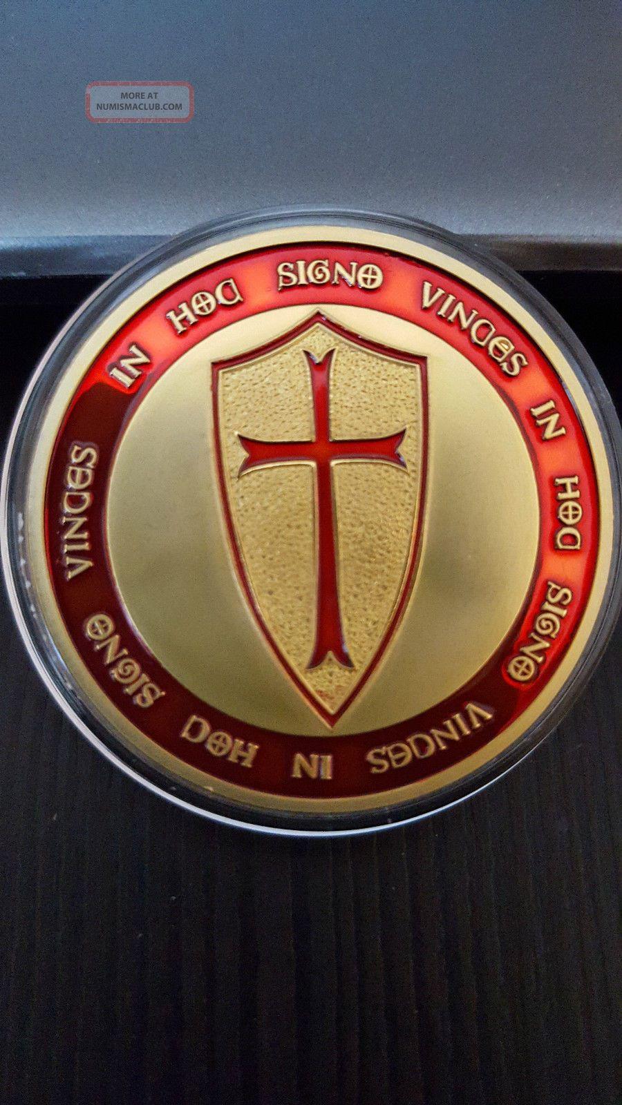 Holy Vatican Christian Masonic Templar Knight S Shield