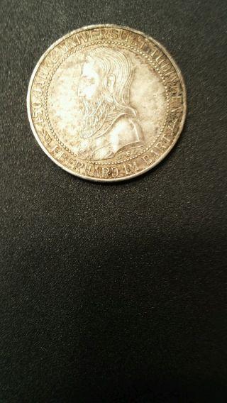 1927 F Silver Drei Reichsmark photo