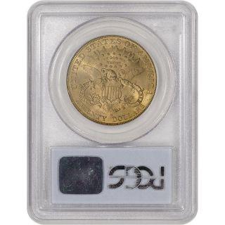1906 - S Us Gold $20 Liberty Head Double Eagle - Pcgs Ms62 photo