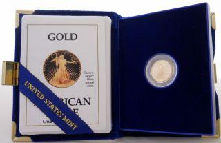 1990 American Eagle 1/10 Ounce Proof