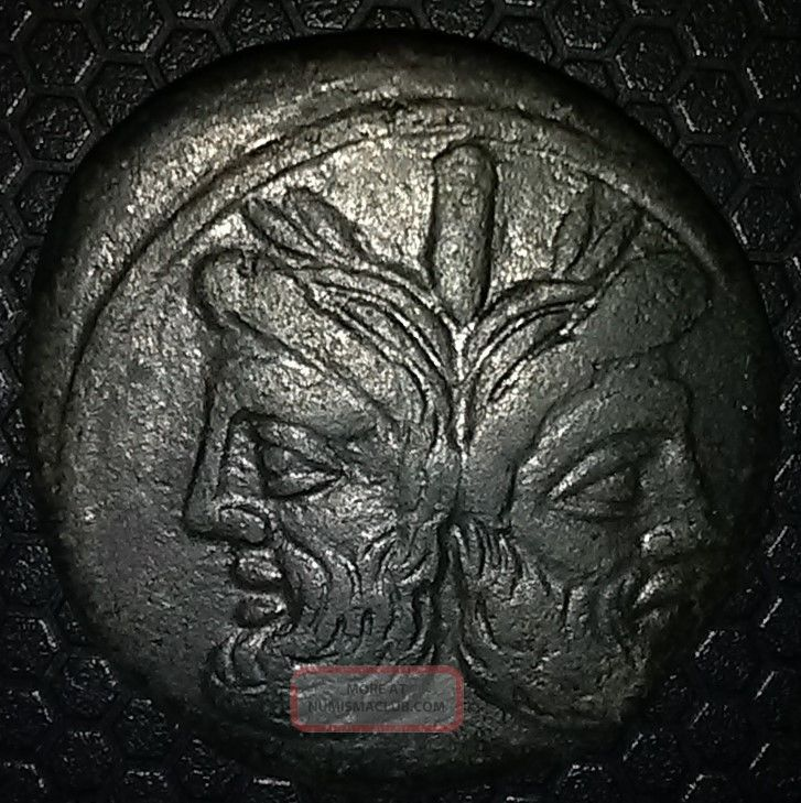 Ice Roman Republic Ae As Anonymous Issue After 211 Bc Coins: Ancient photo