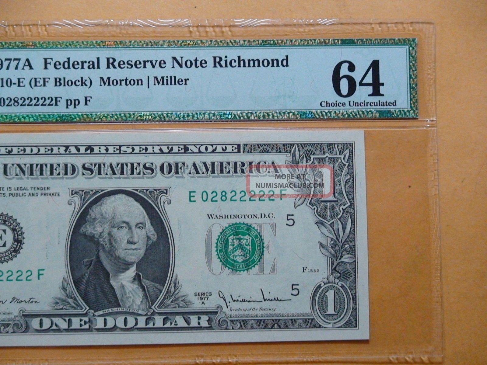 1977A $1 Federal Reserve Note CU
