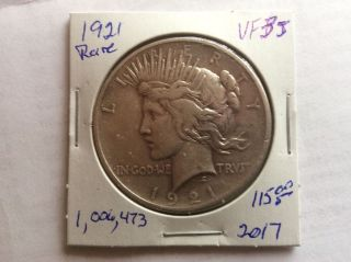1921 Peace Dollar photo