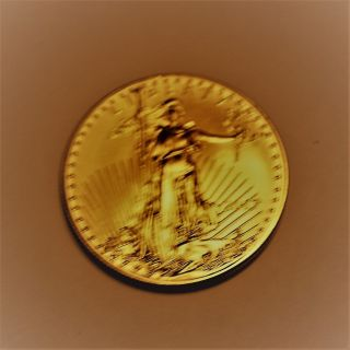 2017 1 Oz.  Gold American Eagle photo
