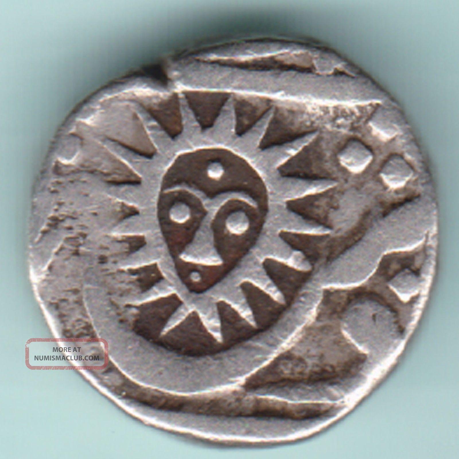 Indore State - Shahalam Ii - Shivaji Holkar - Half Rupee - Rarest Silver Coin India photo