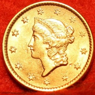 1853 Type I Gold $1 S/h photo