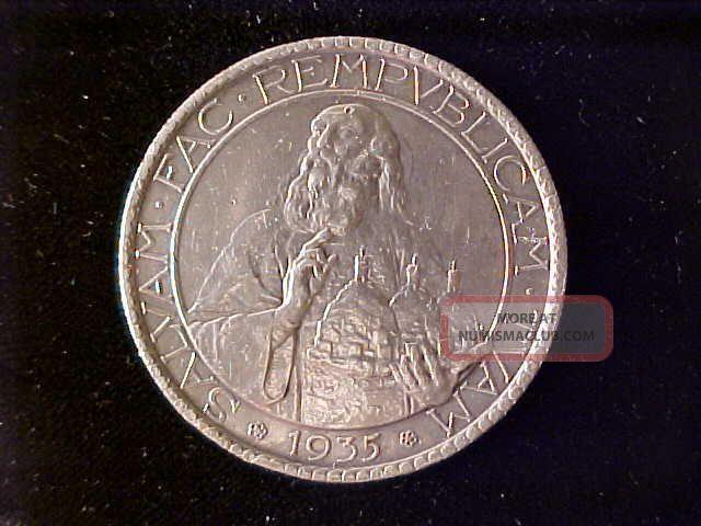 San Marino 20 Lire 1935 Cleaned Ef Italy, San Marino, Vatican photo