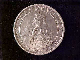 San Marino 20 Lire 1935 Cleaned Ef photo