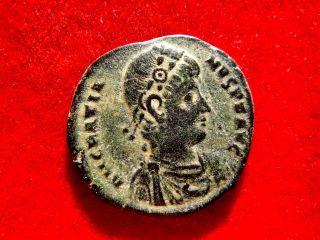 Lucernae Gratian,  Barbarous Ae Maiorina.  Antioch.  Reparatio - Reipvb.  AntΔ. photo