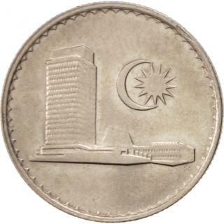 [ 504199] Malaysia,  10 Sen,  1983,  Franklin,  Copper - Nickel,  Km:3 photo