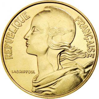 [ 460344] France,  Marianne,  20 Centimes,  1974,  Paris,  Aluminum - Bronze, . photo