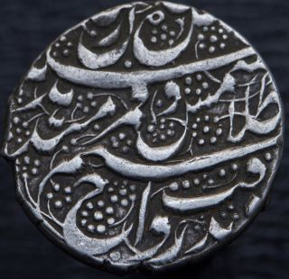 Afghanistan Barakzai Dost Muhammad 1824 - 1839 Ar Rupee Kabul Ah1250 Km 480.  1 photo