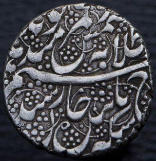 Afghanistan Barakzai Dost Muhammad 1824 - 1839 Ar Rupee Kabul Ah1249 Km 480.  1 photo