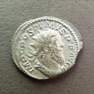 Roman Gallic Empire Coin Antoninianus Postumus Virtus Ric 54 Us3 photo