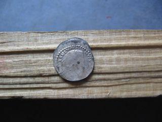 Libius Severus Iii 461 - 465 Ar Half Siliqua 0.  80 Grams photo