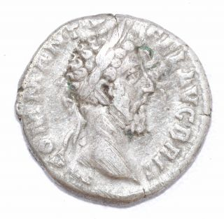 Authentic Commodus Roman Coin - Ar Silver Denarius,  Rv.  Nobilitas - A703 photo