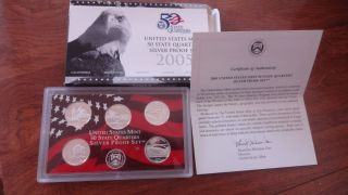 Silver Proof Quarters photo