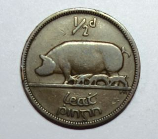 Ireland : Irish Halfpenny 1935 photo