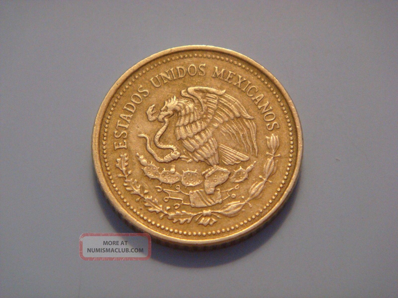 Mexico 20 Pesos 1985