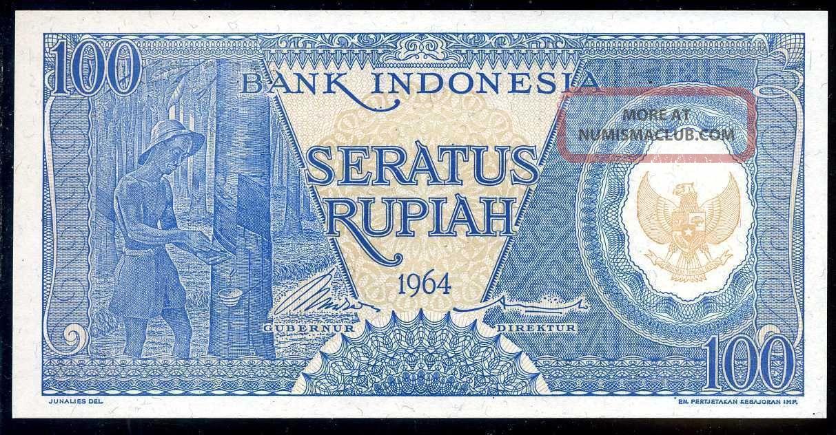 Indonesia - 100 Rupiah 1964 Serie