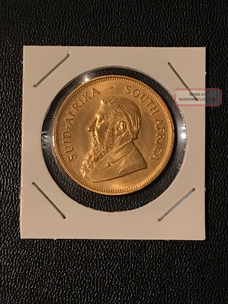 1976 South Africa 1 Oz Gold Krugerrand Coins photo