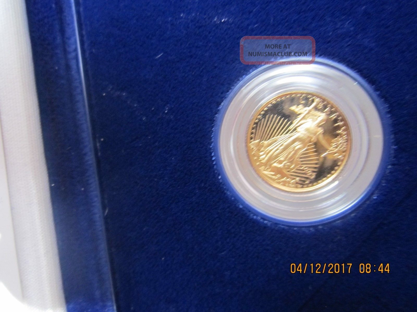1993 P $5 1/10 Oz.  American Gold Eagle Gold photo