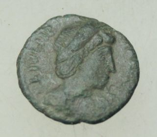 L6 Theodora Wife Of Constantine The Great Ae Follis 16mm 1.  5g photo