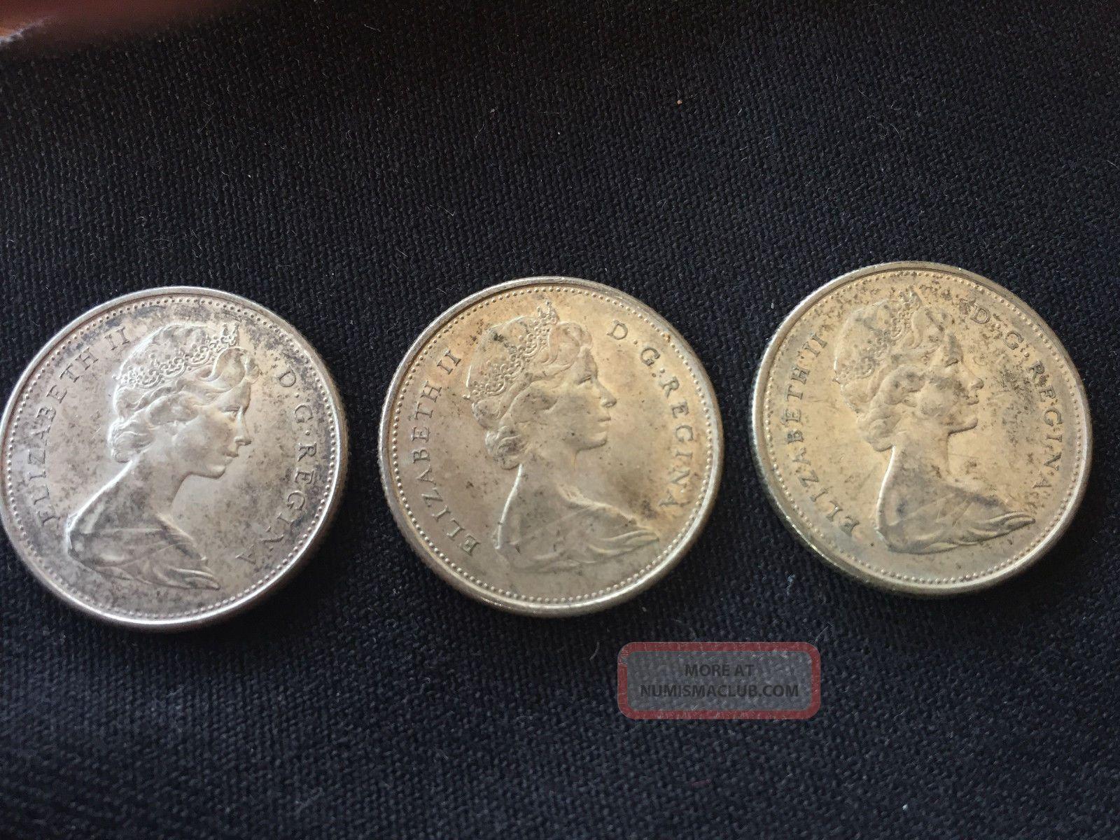 1967 Canada 25 Cents Mexico photo